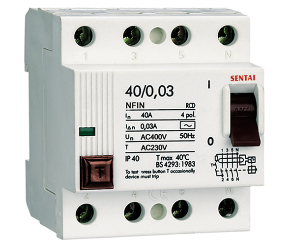 NFIN series earth leakage circuit breaker manufacturer from China